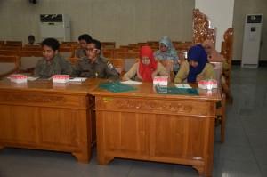Penyelenggaraan Bimtek Pelayanan Administrasi Terpadu (PATEN) Kecamatan di LOmbok Barat, Selasa (10-11 Novemeber 2015) lalu dihajatkan bagi peningkatan kualitas pelayanan publik di Kecamatan (1)