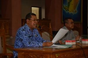 Penyelenggaraan Bimtek Pelayanan Administrasi Terpadu (PATEN) Kecamatan di LOmbok Barat, Selasa (10-11 Novemeber 2015) lalu dihajatkan bagi peningkatan kualitas pelayanan publik di Kecamatan (5)