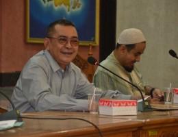 Penyelenggaraan Bimtek Pelayanan Administrasi Terpadu (PATEN) Kecamatan di LOmbok Barat, Selasa (10-11 Novemeber 2015) lalu dihajatkan bagi peningkatan kualitas pelayanan publik di Kecamatan (6)