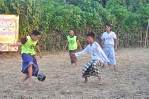 sepakbola sarung