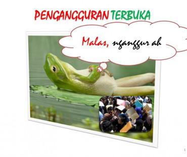 Tingkat Pengangguran Terbuka Kabupaten Lombok Barat