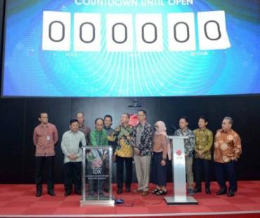 Bupati Lombok Barat Fauzan Khalis Buka Pasar Bursa