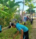 Gotong Royong Di Sekotong Menyambut Lomba Kampung Sehat 2020