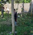 Gotong Royong Menuju Kampung Sehat Desa Bengkaung
